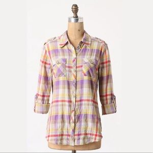 Anthropologie Postmark 'Fairweather' Plaid Shirt 2
